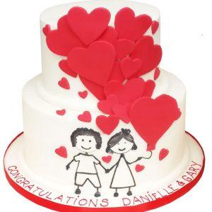 Engagement Cakes Glasgow