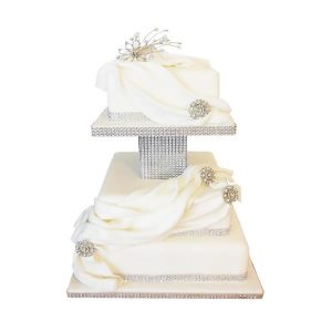 Diamante Wedding Cake