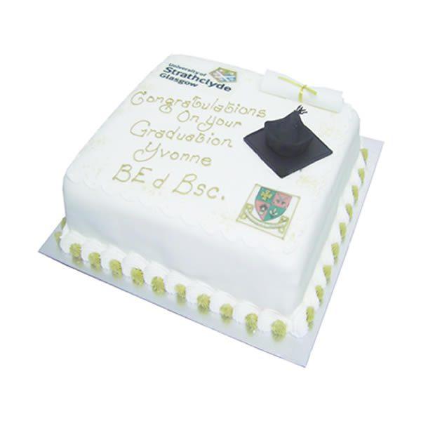 Square Graduation Cake