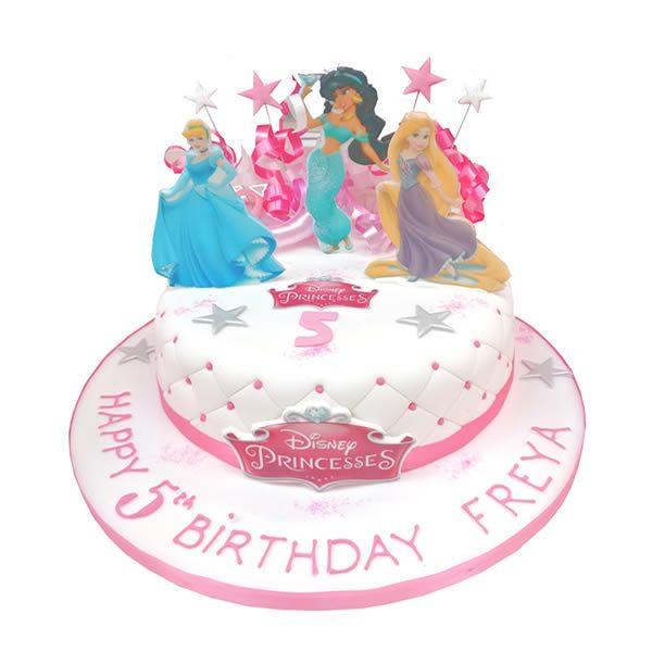 Disney Princess Birthday Cake