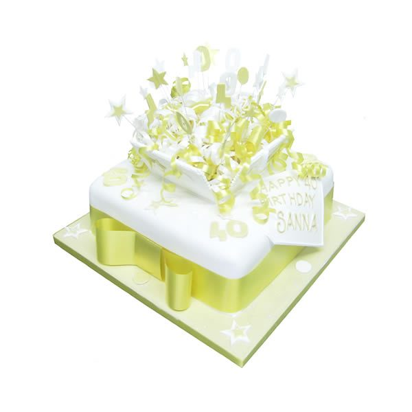 Party Box Cake