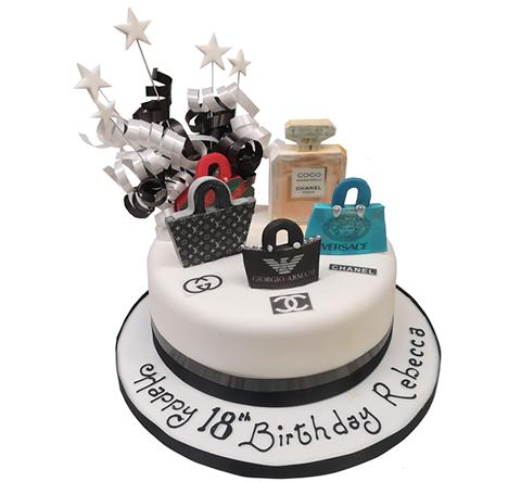 Designer Handbag Cake2