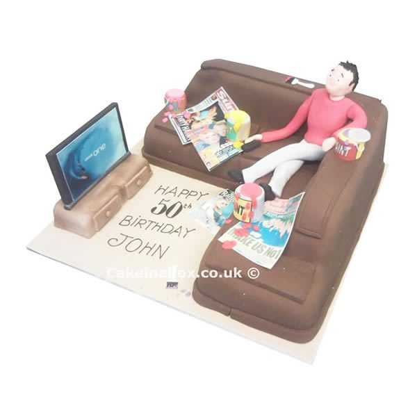 Couch-Birthday-Cake