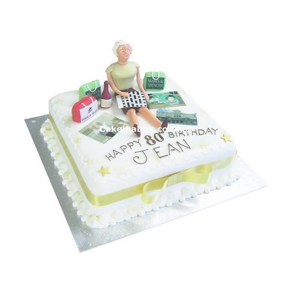 Crossword-Birthday-Cake