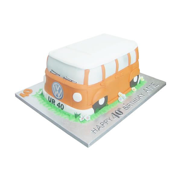 Campervan-Birthday-Cake