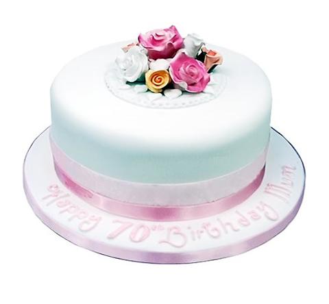 Flower Birthday Cake3